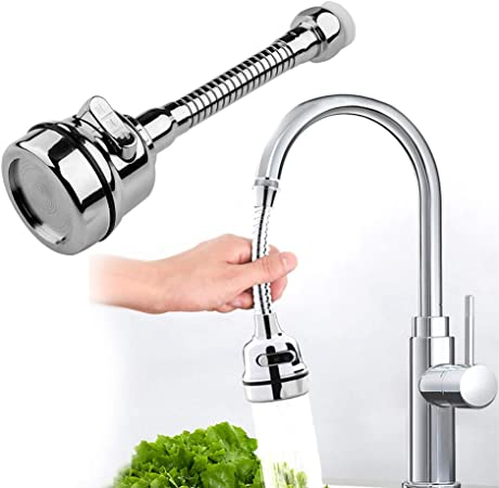 Tap Sprinkle 360º Rotation Water Fliter Stainless Steel Kitchen Faucet Sprayer