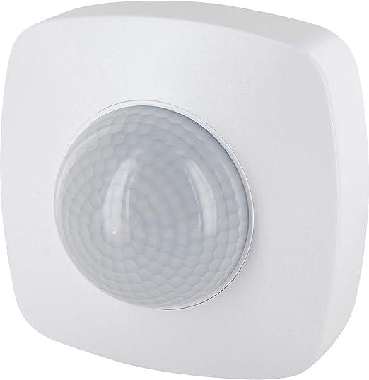 Detector de movimiento por infrarrojos, 360°, IP65, 230 V, con sensor