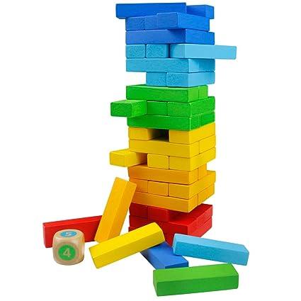 Tonze Juegos De Mesa Juguetes Madera Montessori Juguetes Madera De