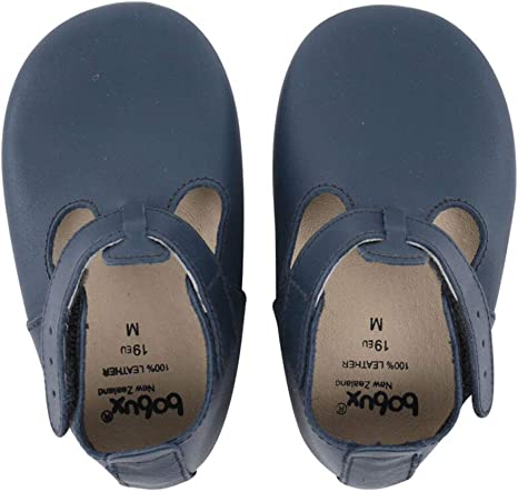 Bobux T Bar Soft Sole Shoes - Navy