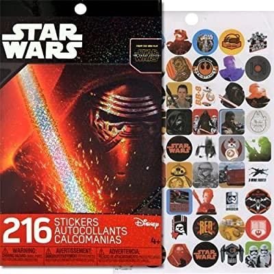 Star Wars Sticker Book with 4 Sticker Sheets