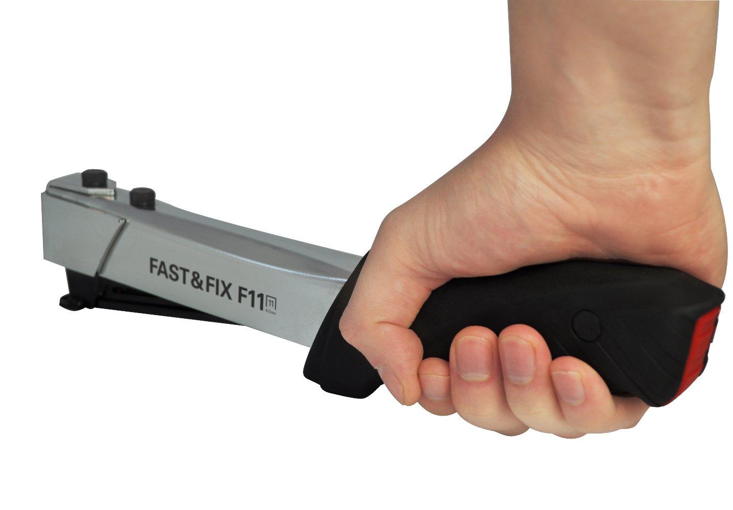 inkl FREUND 01741911 Hammertacker Fast /& Fix F 11 G/ürteltasche