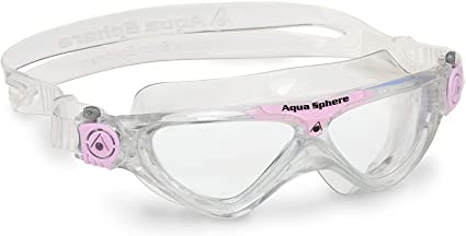 Größe S Aqua Sphere Schwimmbrille Vista Junior glitter-pink