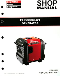 amazon com honda eb6500 generator service repair shop manual rh amazon com honda eb6500 generator shop manual honda generator eb 6500 service manual