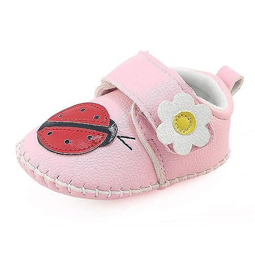 Logobeing Zapatos de Bebe Recién Nacidos Bebés Botines Dibujos Animados Cuna Botas de Invierno Prewalker Zapatos Cálidos: Amazon.es: Zapatos y complementos