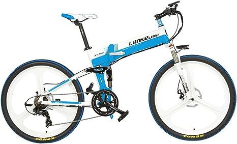 Extrbici xt-750 bicicleta eléctrica plegable 26 x 17 inch aleación ...