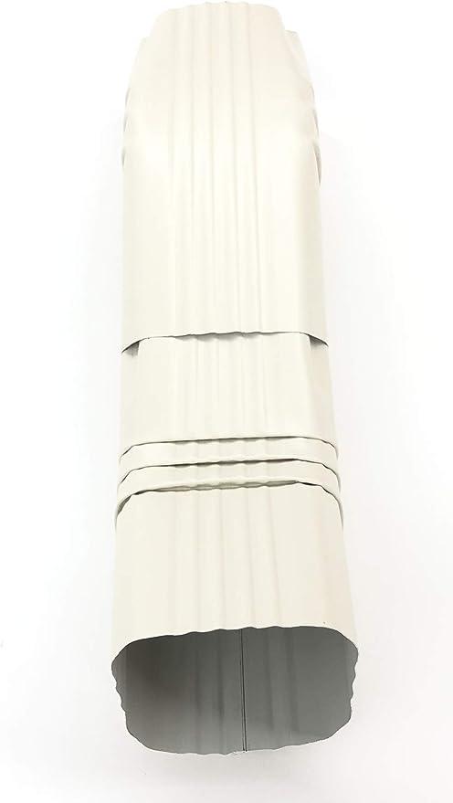 Aluminum Offset Downspout Elbow 3x4 A Almond Amazon Com