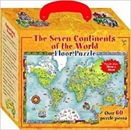 The Seven Continents Of The World Floor Puzzle Five Mile Press - Seven continents of the world