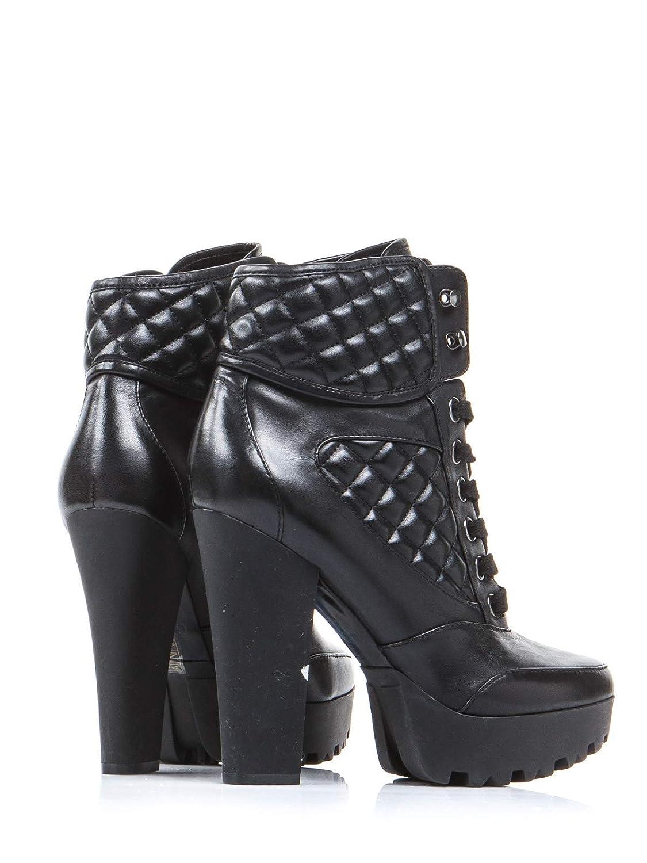 Guess Frauen Oben hoch Oben Frauen Schuhe Damen Schwarz 40 EU Größe 43b49d