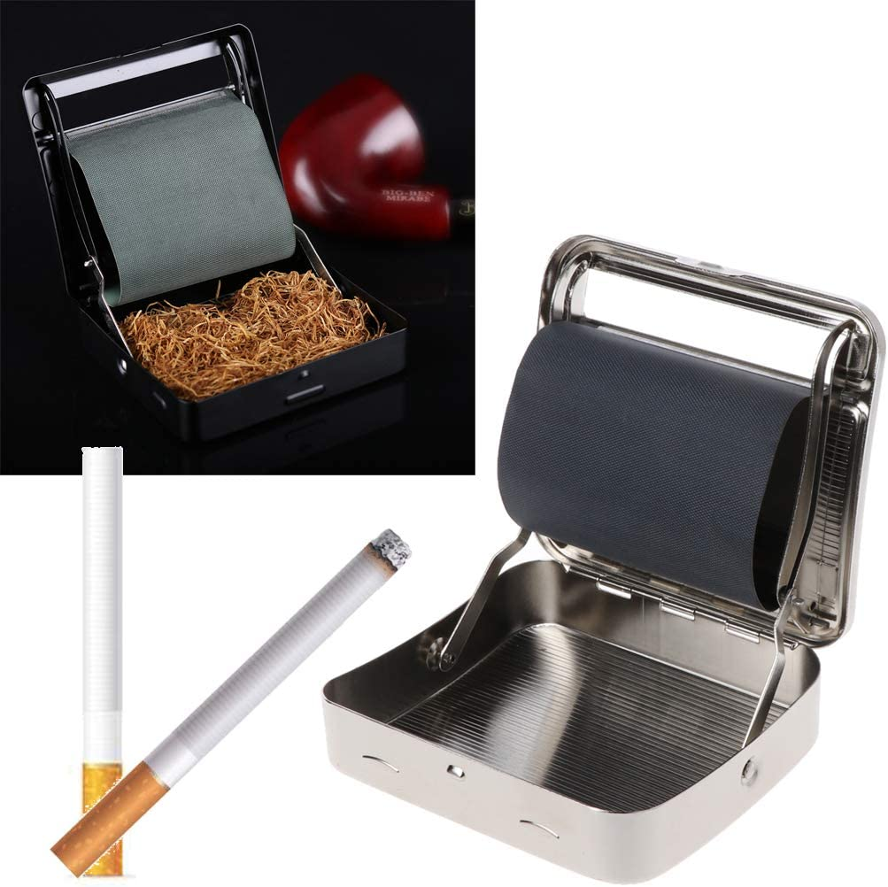 Yiwann máquina de liar cigarrillos, rodillo de tabaco manual fácil de usar, herramienta práctica para hacer cigarrillos, caja de tabaco con rodillo, 70 mm: Amazon.es: Hogar