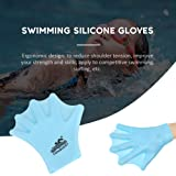Echeer Swimming Silicone Gloves, Kids Silicone