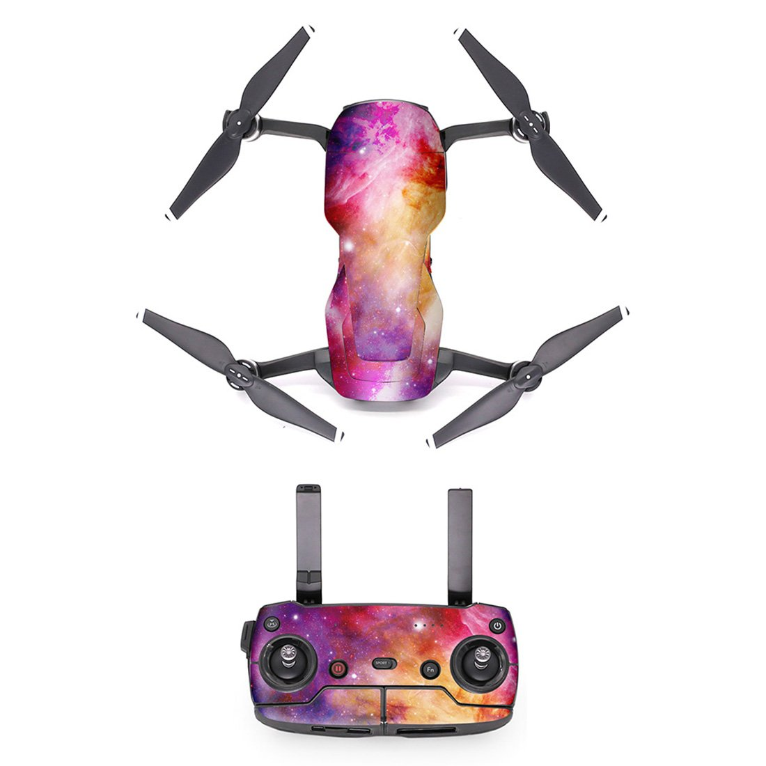 LoKauf PGYTECH Impermeable PVC Sticker Decal Skin Cover Accesorios para DJI Mavic Air