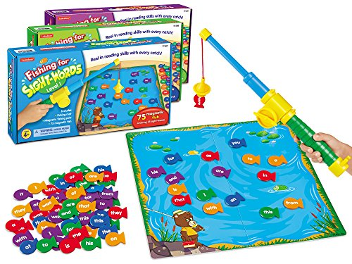 Lakeshore Fishing for Sight-Words Game - Set of 3 by Lakeshore Learning Materials