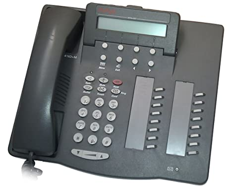 amazon com avaya 6416d m phone gray electronics rh amazon com avaya 6408d+ phone manual avaya 6408d+ user manual