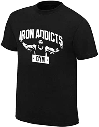CT Fletcher Iron Addicts Gym Black Tshirt For Unisex