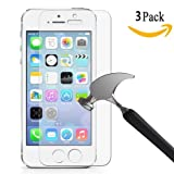 Amazon Price History for:[3 Pack] iPhone 5S Screen Protector, Asstar Premium Tempered Glass Screen Protector Anti-Fingerprint, Anti-scratch, Scratch Resist, Crystal Clear for iPhone SE / 5 / 5S / 5C