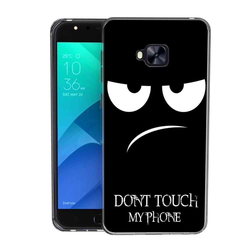 Zenfone 4 Selfie ZD553KL Custodia Cover, FoneExpert® Silicone Caso Molle di TPU Sottile Anti Scivolo Case Posteriore Della Copertura Per Asus Zenfone 4 Selfie ZD553KL (5.5
