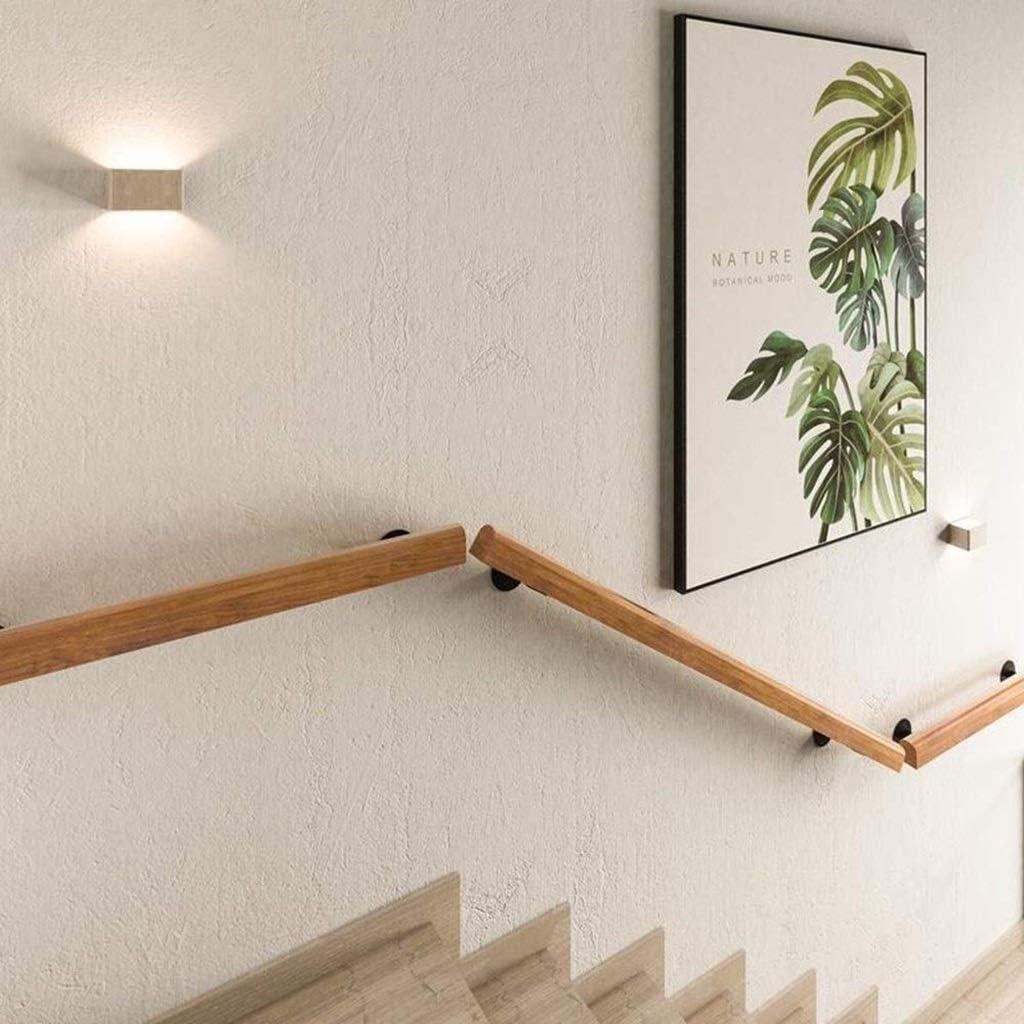 Size : 50cm Anti-Rutsch-Holz Treppengel/änder Start Gegen Die Wand Indoor Loft /Ältere Gel/änder Gel/änder Korridor St/ützstange 50cm-600cm Handlauf Anpassbare Gr/ö/ße