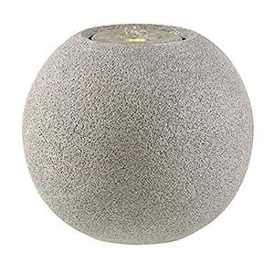Esteras 800249Meco 77Granite Grey Diámetro 77x 66cm, fibra de vidrio (GFK), impermeable de & UV UV