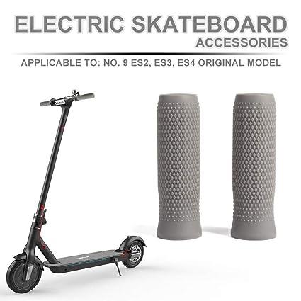 Scooter eléctrico de silicona manillar Grip Handle cubierta ...