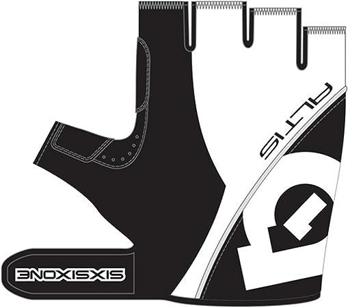 661 Altis Short Finger Cycling Gloves BLACK //SILVER or WHITE//BLACK /_6734