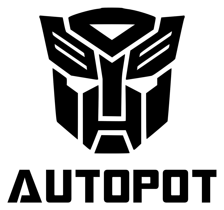 "AUTOPOT 5"" x 5.25"" Instant Pot Vinyl Decal Sticker Instapot Transformers Autobots - 20 Color Options - RED"