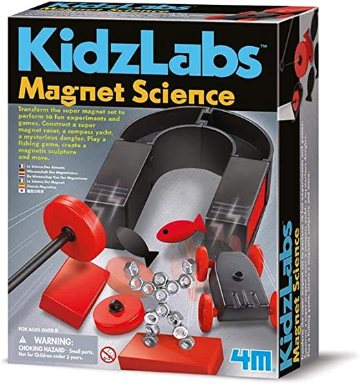 NEW 4M KIDZ LABS MAGNET SCIENCE CHILDREN DISCOVERY /& LEARNING FUN TOY AGE 8+