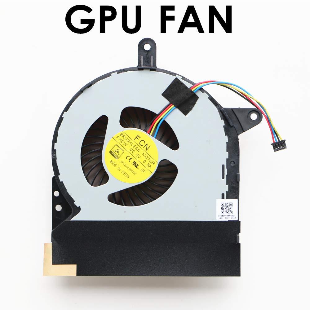 Ventilador GPU ASUS ROG G752VY G752VY-RH71 GFX72V GFX72VY GTX980