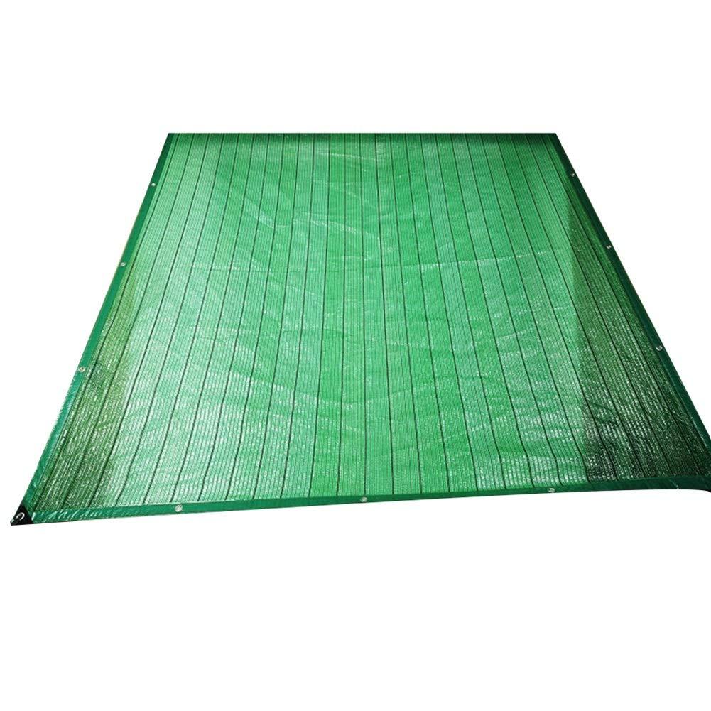 LIANGLIANG-fang shai wang Rete Parasole Serre Antivento Traspirante Crittografia Balcone Succulente Ombreggiatura Calmati Gommino Polietilene, 23 Taglie (colore   verde, Dimensioni   3x4m)
