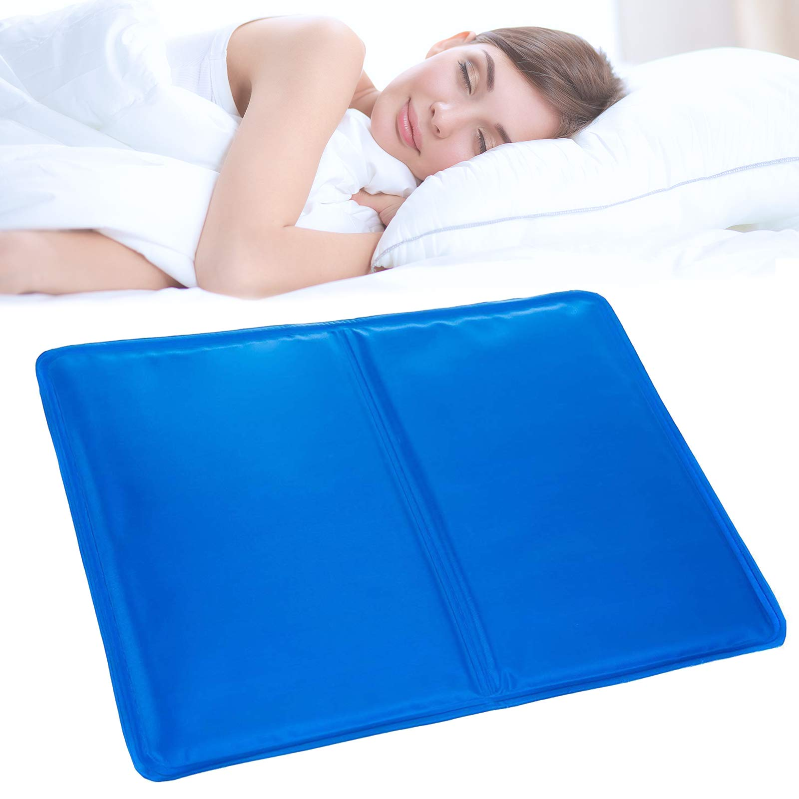 Tanness Magic Multi-Function Cool Jelly Pad Cushion Pillow Mat Absorbs and Dissipates Heat - Helps Improve Quality of Sleep & Optimal Sleeping Temperature
