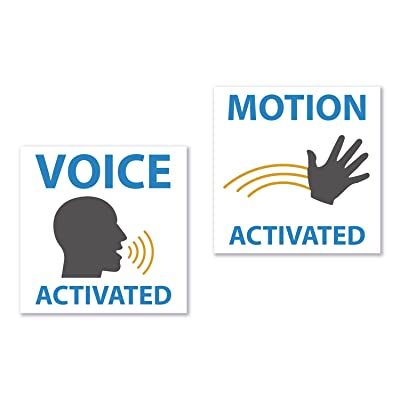 Voice and Motion Activated Practical Joke Funny Stickers - Funny Pranks for Hilarious Gags (4): Toys & Games