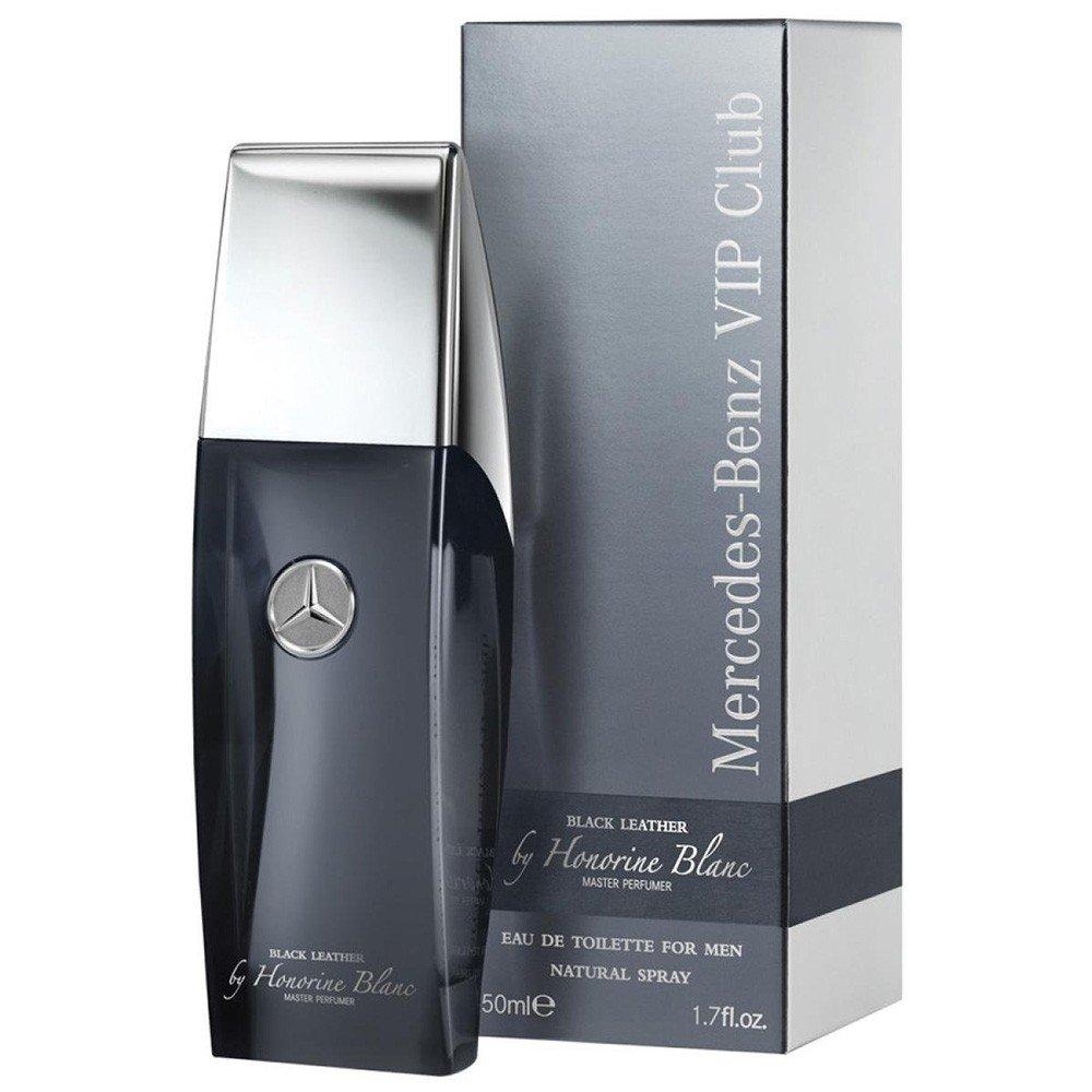 Mercedes-Benz VIP Club Eau de Toilette Black Leather Natural Spray, 100 ml Mercedes Benz