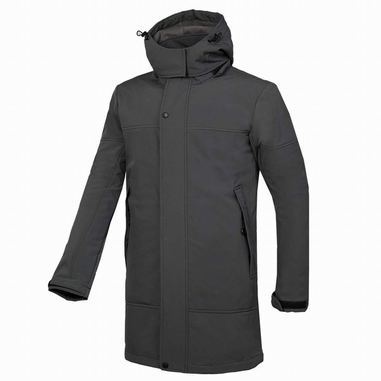 ff723e1882af0 Amazon.com: Small Oranges Men's Mountain Leather Softshell Jacket ...