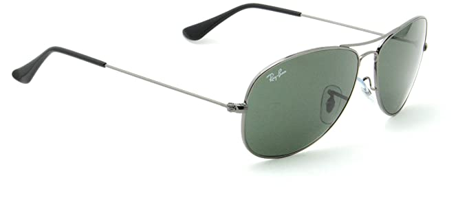 041eeb772 Image Unavailable. Image not available for. Colour: Ray-Ban RB3362 004  Cockpit Unisex Aviator Sunglasses ...