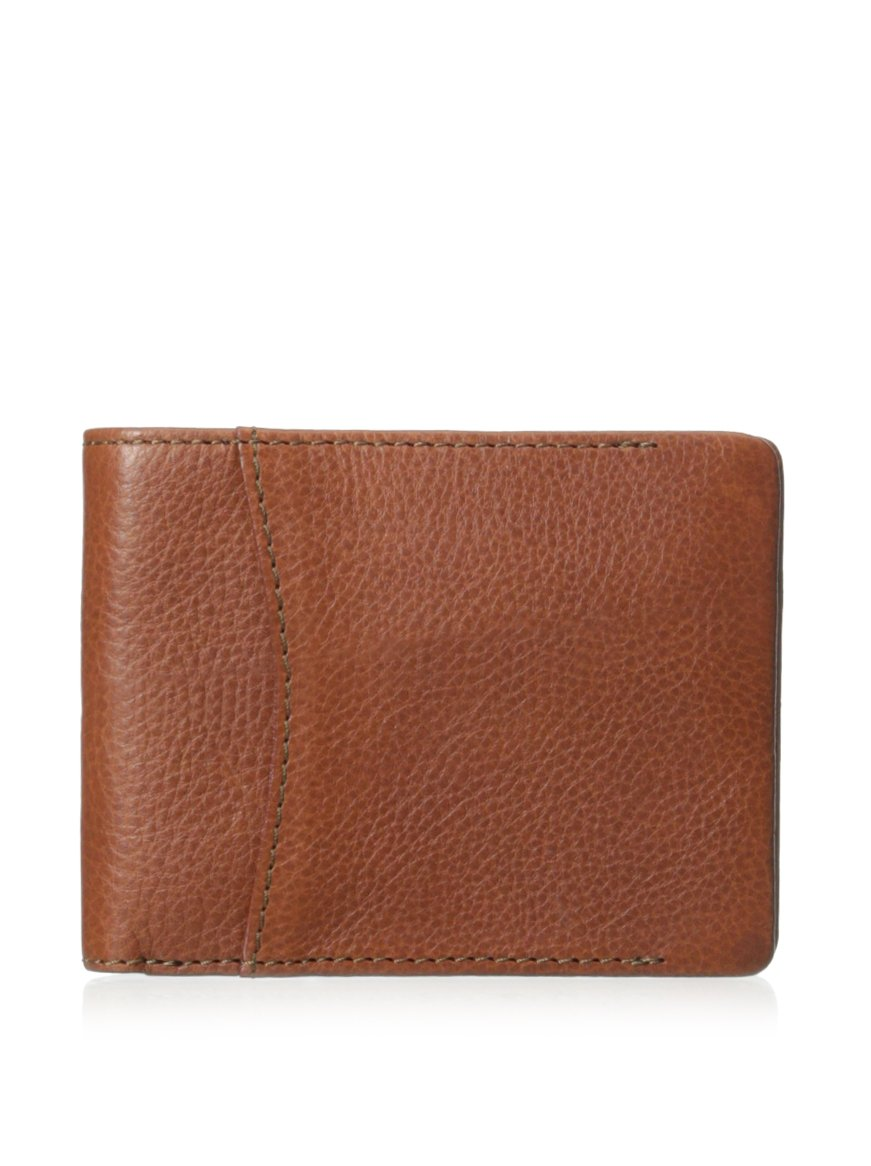 Bosca Correspondent Collection Executive ID Wallet Chestnut (One Size, Chesnut) by Bosca