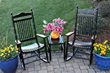 Set of 2 Rocking Chairs w Table 309147