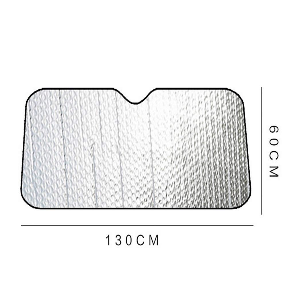 130 * 60cm FDSEA Auto Schatten Windschutzscheibe Sonnenschutz um Ihr Auto k/ühl zu halten Sonnenblende f/ür die Frontscheibe des Autos blockiert UV