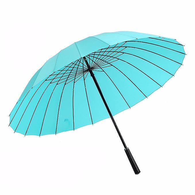 SFSYDDY-Paraguas Paraguas Creativo De Mango Largo Doble Paraguas Gigante Mango Recto De Doble Varilla Recta Paraguas Paraguas.Yo: Amazon.es: Deportes y aire ...