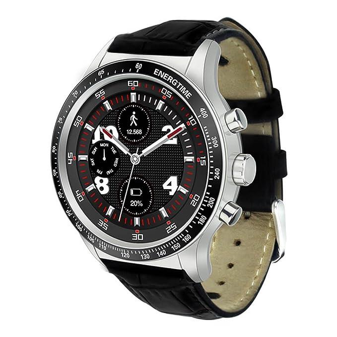 TECKEY Bluetooth Reloj Inteligente, Y3 Bluetooth 4.0 Reloj ...