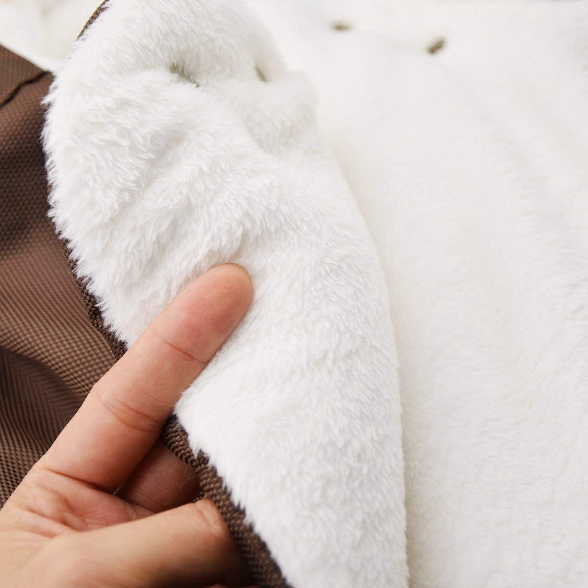 Pushchair Pram Gloves YAHUANG Detachable Winter Pram Stroller Hand Warmer Hand Muffs