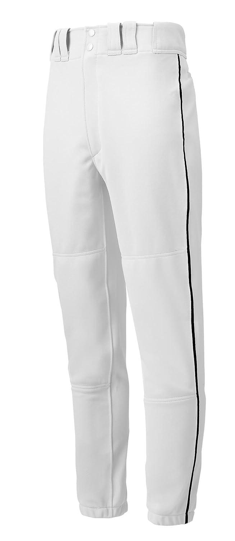 (ミズノ) Mizunoメンズベースボールパンツ パイピング入り 大人用 B000IOQDIG S|ホワイト/ブラック ホワイト/ブラック S