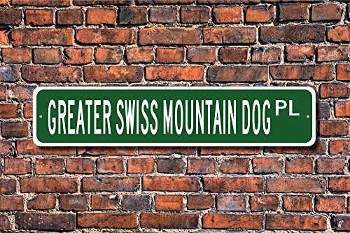Greater Swiss Mountain Dog Greater Swiss Mountain Dog Lover Greater Swiss Mountain Dog Sign Custom Street Sign Quality Metal Sign