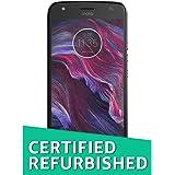 (CERTIFIED REFURBISHED) Moto X4 (Super Black, 32GB)