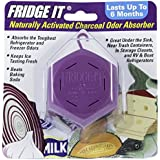 Fridge-It Cube - Naturally Activated Charcoal Odor Eliminator - 6 pack