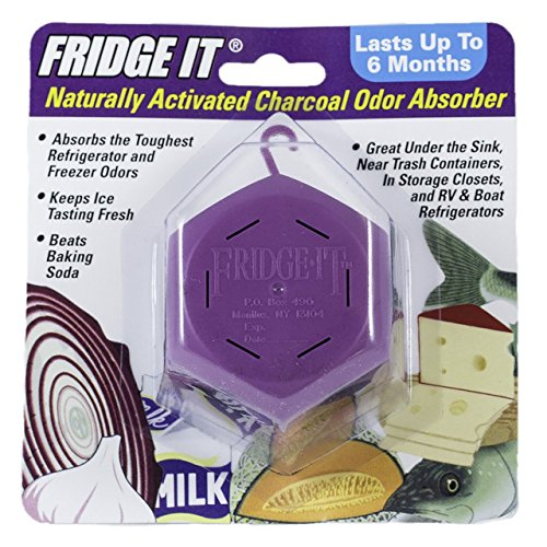 Innofresh Fridge-It Cube - Naturally Activated Charcoal Odor Eliminator - 6 Pack