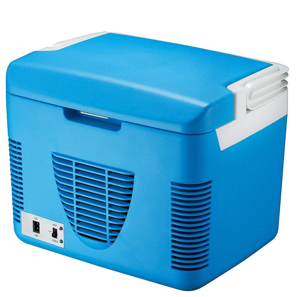 Portable Electric Cooler Fridge Electric Car Refrigerator, Portable Mini Fridge with Cold and Hot Functionality - 10L for Travel, Picnic, Camping, Home and Office Use