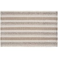 C&F Home Dobby Stripes Woven Area Rug, Large/3 x 5, Natural