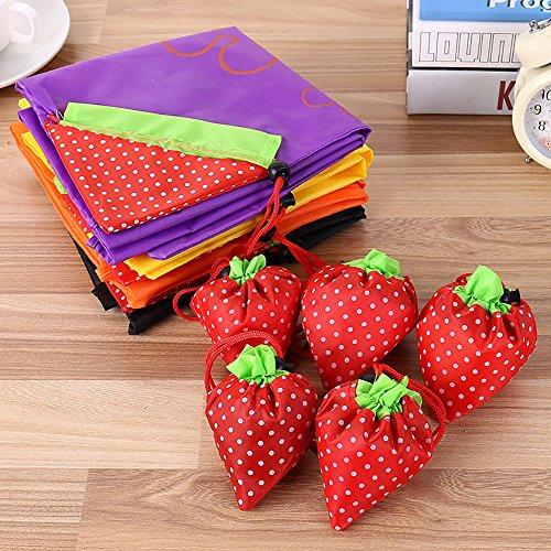 Bag Reusable Handbag Eco Tote D Strawberry Fashion Cute Bags Hunpta Foldable Bag Shopping Reusable pRZ6w