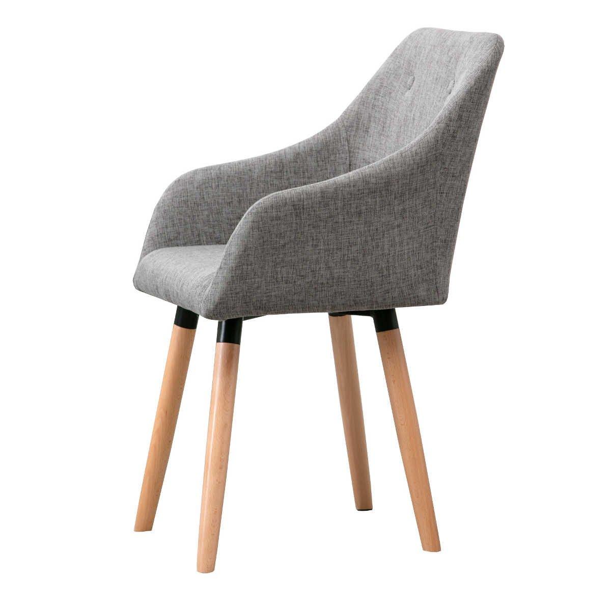 6 esszimmerst hle mit stoffbezug design. Black Bedroom Furniture Sets. Home Design Ideas