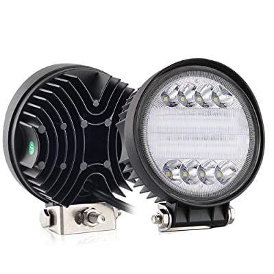 CO LIGHT LED Work Light Bars 2PCS 4.6inch 30W Round LED Light Pods Fog Light Truck Light Driving Light for SUV ATV Boat Tractor Off-road 4x4 Truck 3 Years Warranty colight-930A-2pcs: Automotive